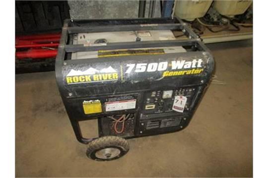 7500w generator capacity