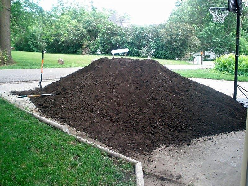 yard of dirt